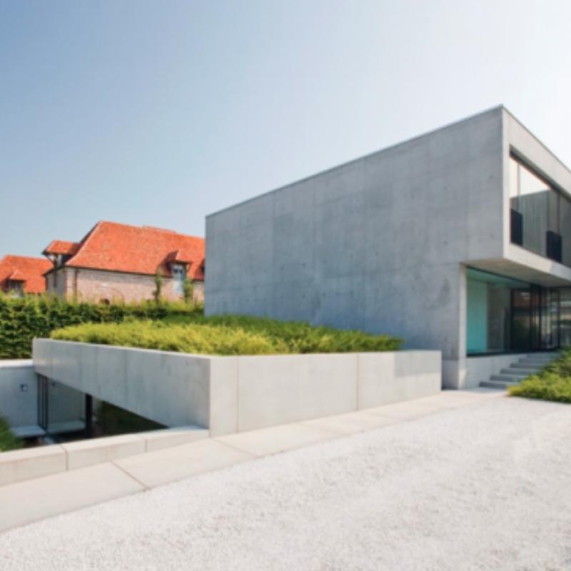 Buitengewoon belgisch bouwen consequent beton
